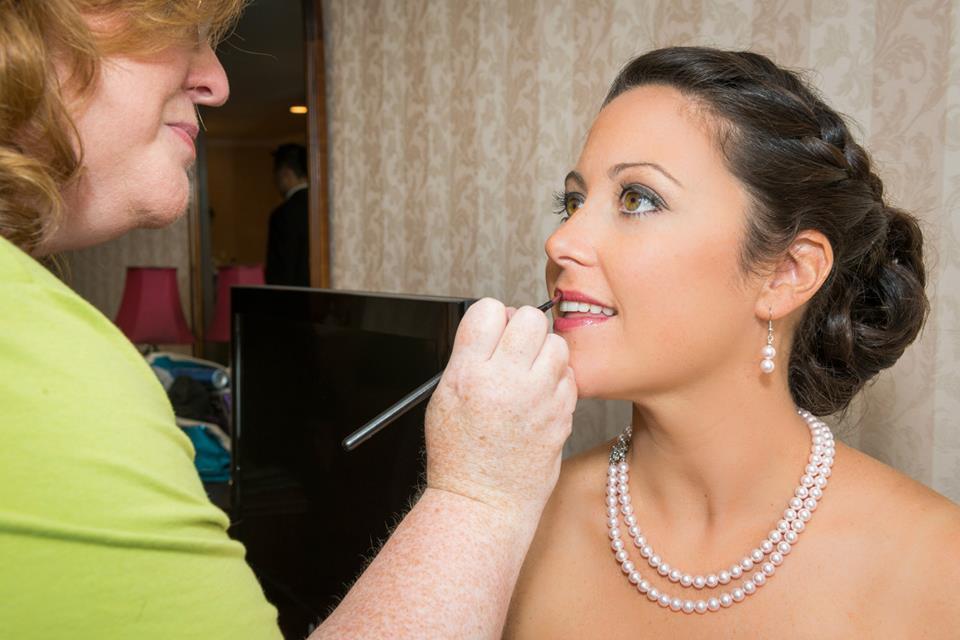 Airbrush wedding makeup by nancy