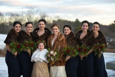 Cold wedding day