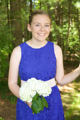 Junior bridesmaid makeup