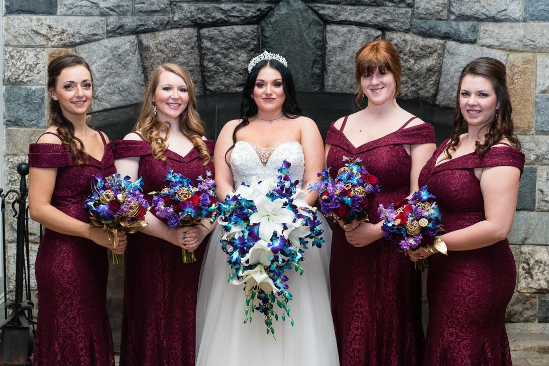 Natural Bridal Party Make up