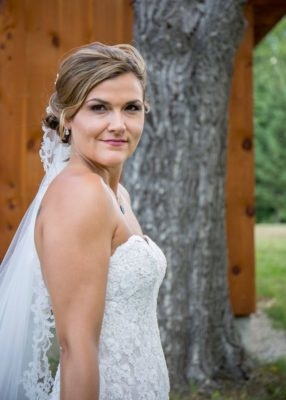 Southern New Hampshire Wedding Makeup