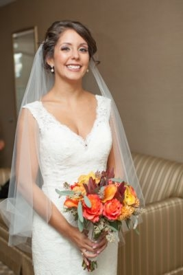Wayside inn wedding makeup