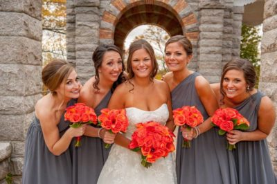 bridal party make up