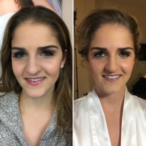Wedding makeup consult