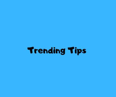 Trending Tips (1)